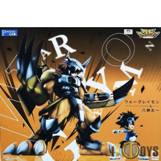 G.E.M.Series Digimon Adventure WarGreymon & Yagami Taichi