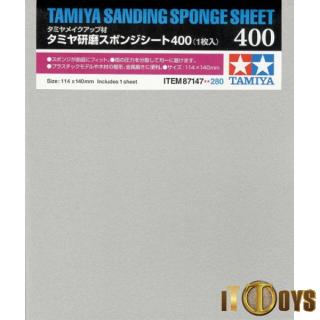 Tamiya #87147 Sanding Sponge Sheet 400