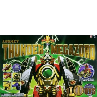 Power Rangers Legacy Thunder  Megazord