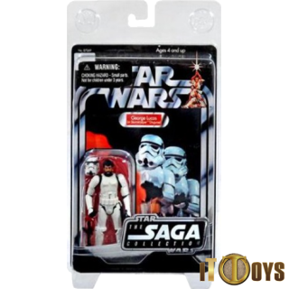 Star Wars  Saga Collection  Georges Lucas In Stormtrooper Disguise