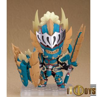 Nendoroid [1421-DX]  MONSTER HUNTER WORLD: ICEBORNE  Hunter: Male Zinogre Alpha Armor Ver. DX