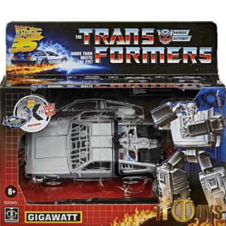 Transformers  Back To The Future 35th  Gigawatt