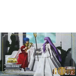 Saint Seiya  Cloth Myth EX  God of the Sun Abel &  Athena Legend of Crimson Youth Memorial Set