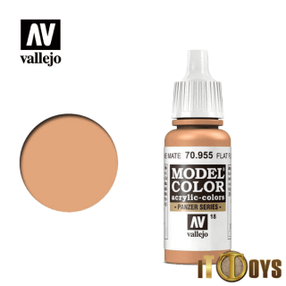 [018] 70.955 Vallejo Model Color (17ml) Flat Flesh