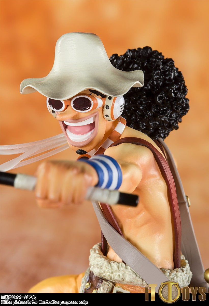 "One Piece Usopp /""New World/"" Figuarts Zero Bandai nuova originale 2011"