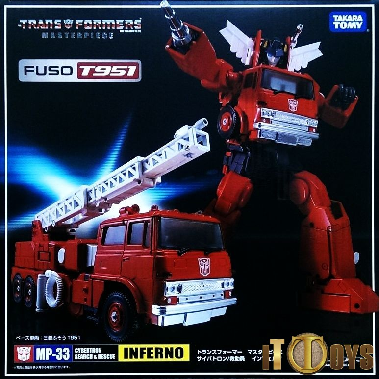 Transformers Masterpiece MP-33 Inferno (Mitsubishi Fuso T951 Uk)